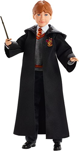 Harry Potter - Muñeco Ron Weasley, Multicolor (Mattel FYM52)