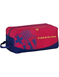 Safta 311259 F.C. Barcelona Bolsa para Zapatos, Color Azul y Granate