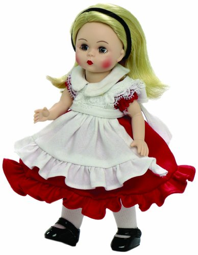 Madame Alexander Alice in Wonderland Red Dress 8