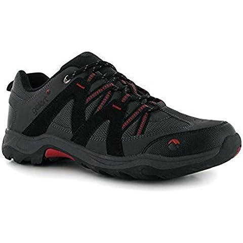 Gelert para hombre Ottawa bajo Walking zapatos, hombre, gris oscuro, 8 UK