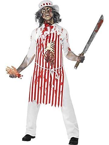 zombie Kostüm Hackmesser, Größe m (Boucher Halloween-kostüm)