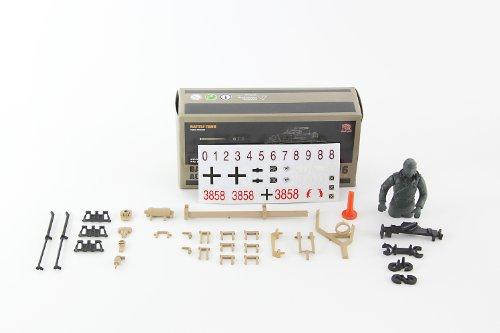 RC Auto kaufen Kettenfahrzeug Bild 6: XciteRC 35511000 Ferngesteuerter RC Panzer Modellpanzer DAK Kampfwagen IV F-1 - Ready to Race Sound and Smoke 1:16, braun*