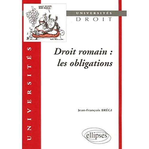 Droit romain : Les obligations