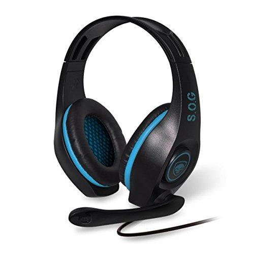 Casques audios et Microphones - Spirit of Gamer Elite H-5 - Casque-micro pour gamer (compatible PC, Mac, PS3, PS4, Xbox 360)