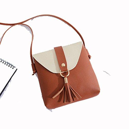 70d4351debf7 Kayboo Fransenbeutel Mini Umhängetasche Damen Quasten Verziert Frische  Literarische Handtaschen Einfache Mode Damen Schultertasche Freizeittasche
