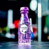 IFEN Unzerbrechliche Sportreisen Wasserflasche tragbare auslaufsichere Radfahren Camping Wasser Tasse 550ml Soda Flasche mit Lanyard - lila