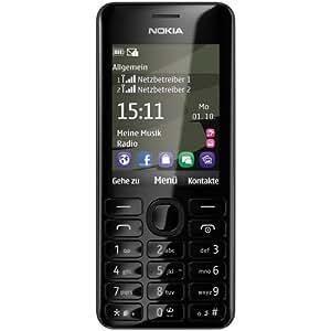 Nokia 206 (Dual SIM, White)