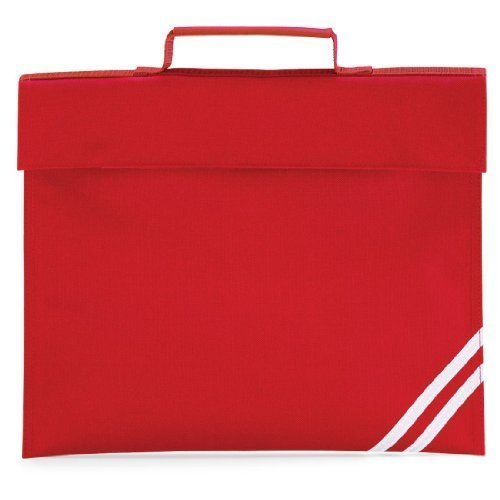 Shirtstown Classic Book Bag, Schultasche, Dokumentasche Rot