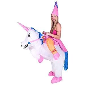 Costume de d駵isement gonflable pour adultes (Licorne) - taille unique