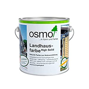 Osmo Landhausfarbe Lichtgrau (2735) 2,5 Liter