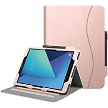 """Fintie Samsung Galaxy Tab S3 9.7 Funda, [Multi-Ángulo de Visualización] Slim Stand Case Plegable Smart Cover con Auto-Sueño / Estela para Samsung Galaxy Tab S3 9.7"""" Tablet, Oro Rosa"""