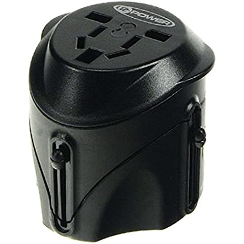 2-Power Universal Travel Adapter power connector adaptor