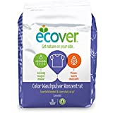 Ecoer - Detergente en polvo concentrado ecológico con olor a lavanda, 4 paquetes