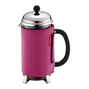 Bodum Nero Coffee Coat for 8 Cup Coffee Press, Pink