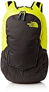 The North Face Lightweight Vault Unisex Outdoor  Backpack available in Sulphur Spring Green/Asphalt Grey - One Size