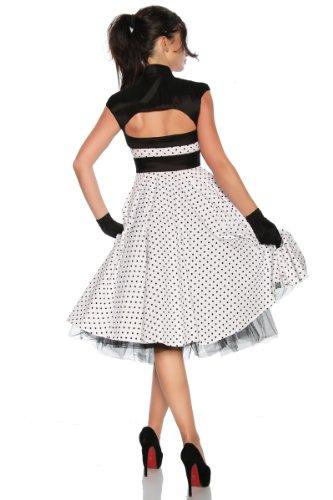 Rockabilly-Kleid mit einer Satinschleife - 3