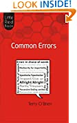 #7: Little Red Book of Common Errors