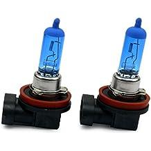 jurmanntrade GmbH® Xenon Style, de lámpara halógena Pera, Xenon Look, delantero/trasero: Low Beam, H11