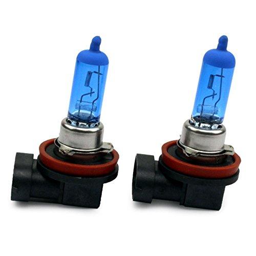 JurmannTrade GmbH® H11 Xenon Style Lampen/Halogen Birne mit 100W, Xenon Look, vorne/hinten als Fernlicht / Abblendlicht / Nebelscheinwerfer verwendbar! 6