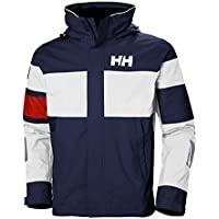 Helly Hansen Salt Light Jacket Chaqueta Impermeable, Hombre, Azul Catalina, M
