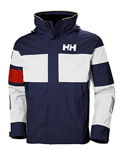 Helly Hansen SALT LIGHT JACKET - Atmungsaktive Segeljacke mit Reflektoren zum Inshore-Segeln - Wasserdichte Allwetter-Jacke für Herren