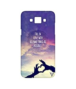 Vogueshell Fall In Love Printed Symmetry PRO Series Hard Back Case for Samsung Galaxy Grand Max