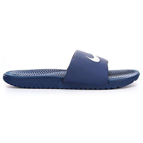 Nike Mens Kawa Slide Navy Synthetic Sandals 46 EU