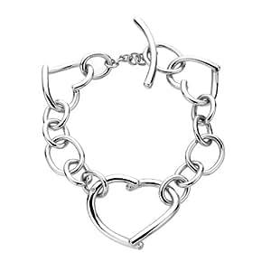 Hot Diamonds Just Add Love Silver And Diamond Bracelet