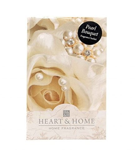 Heart And Home PEARL Bouquet Große Duft Duft Sachet mit Aufhänger (Candle Yankee Bouquet)