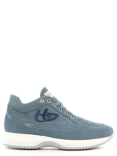 Blu Byblos 662050 Sneakers Uomo Scamosciato Jeans Jeans 42