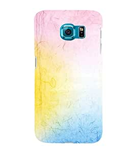 EPICCASE rainbow colors Mobile Back Case Cover For Samsung Galaxy S6 Edge (Designer Case)