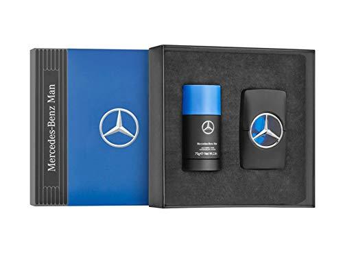 Mercedes-Benz Parfums Man, 2er-Set, 50 ml, Parfüm, Parfum, Herren Parfüm, Herren, Geschenkset, EAU de Toilette, Deodorant, (Mercedes-parfüm)