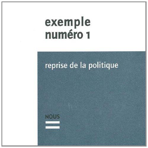 Exemple, N° 1 : Reprise de la politique par Patrizia Atzei