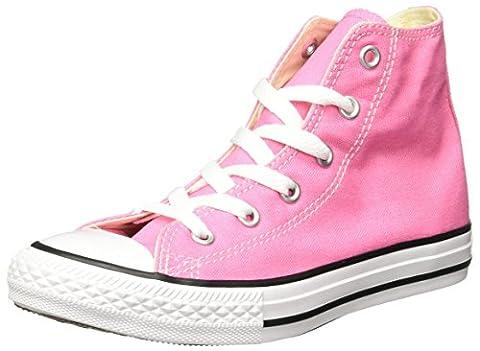 Converse Ctas Core Hi, Sneakers Hautes mixte fille, Rose, 27