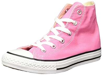 Converse Ctas Core Hi, Sneakers Hautes mixte fille, Rose, 27 EU