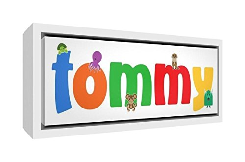 Little Helper Napperon avec Coaster Style Illustratif Coloré avec le Nom de Jeune Garçon Ayoub