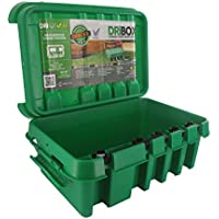 Dri-Box FL-1859-285-IIG - Caja impermeable (IP55), color verde