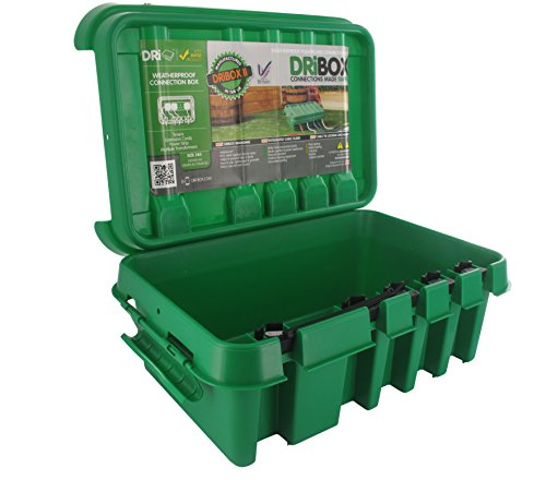 Dribox FL1859285G Scatola Impermeabile Dri-Box DB-285-UK-G IP55, Verde, Media