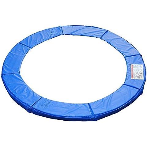 2,4m sostituzione trampolino sicurezza Primavera, imbottitura in PVC, colore tappetino