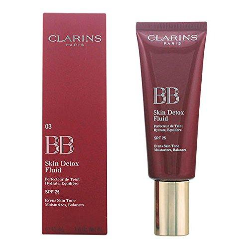 Clarins Bb Skin Detox Fluid Bb Cream SPF 25, 03 Dark - 45 ml
