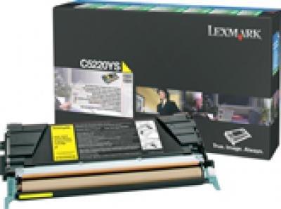 Preisvergleich Produktbild Lexmark C522RYS Tonerpatrone gelb für Laserdrucker 3000 Seiten