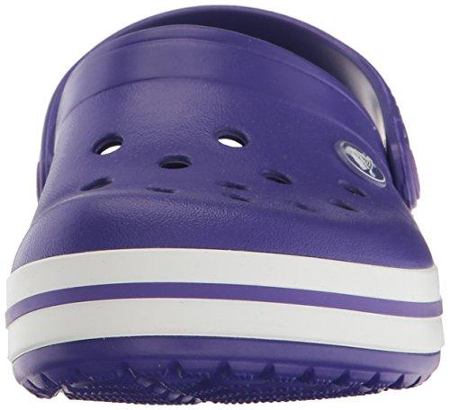 Crocs Crocband Clog K Uv/Whi, Zoccoli Unisex – Bambini Viola (Ultraviolet/White)