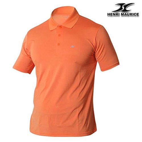 Henri maurice Herren Poloshirt mehrfarbig mehrfarbig Orange