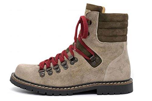 Spieth & Wensky Damen Boots Lametta Beige Bisam Antik Gr.39