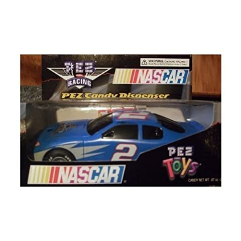 NASCAR Pez Candy Dispenser race car by Disney
