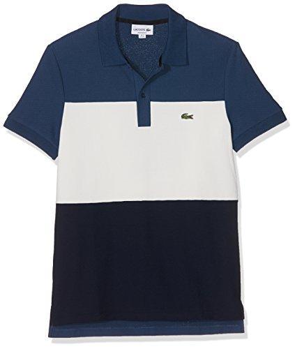 Lacoste Herren Poloshirt Blau (Philippines/Farine-Marine)