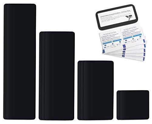 Tape autocollant planifier Kit Pansements réparation Easy Patch Comfort 100 mm Largeur - 10 pièces - Noir Ral 9005