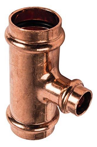Kupfer Pressfitting SudoPress Schiebemuffe ohne Anschlag 22 mm x 22 mm 5 Stück