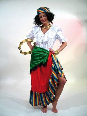 36/38 Esmeralda (Esmeralda Kostüm Erwachsene)