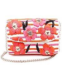 Nitya Biswas Women's Sling Bag (Pink)